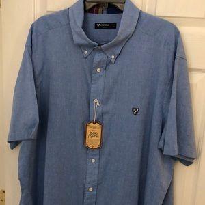 Cremieux shirt short sleeve Tall Mans 3XT